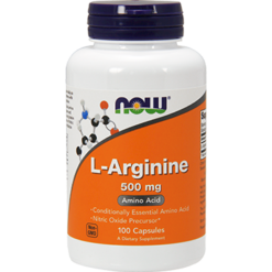 NOW Arginine 500 mg 100 caps N00309