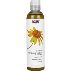 NOW Arnica Warming Relief Oil 8 fl oz N7667