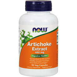 NOW Artichoke Extract 450 mg 90 vegcaps N4592