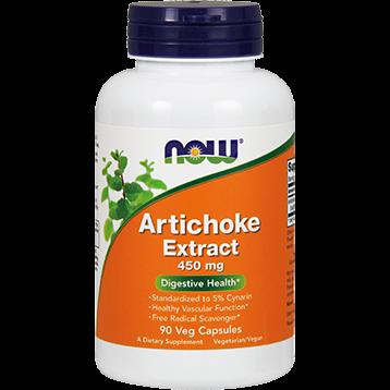 NOW Artichoke Extract 450 mg 90 vegcaps N4592