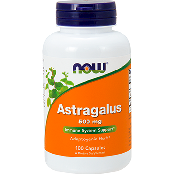 NOW Astragalus 500 mg 100 caps N4605