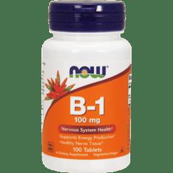 NOW B 1 100 mg 100 tabs N04468