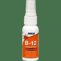 NOW B 12 Liposomal Spray 1000 mcg 2 fl oz N3910