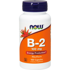 NOW B2 100 mg 100 caps N0447