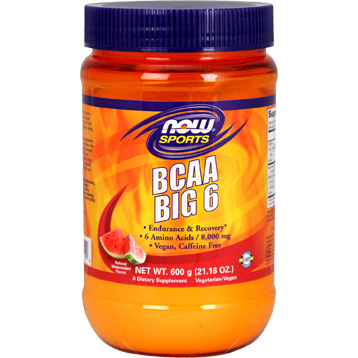 NOW BCAA Big 6 Watermelon 600 g N02129