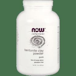 NOW Bentonite Powder 100 Pure Clay 1 lb N3051