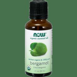 NOW Bergamot Oil Organic 1 oz N74140