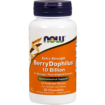 NOW Berry Dophilus Extra Strength 50 chews N29232