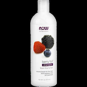 NOW Berry Full Shampoo 16 fl oz N8214