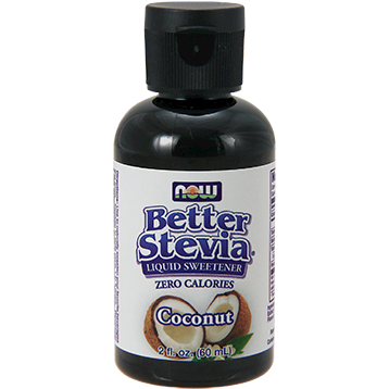 NOW Better Stevia Coconut 2 oz N69306