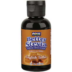 NOW Better Stevia English Toffee 2 oz N69382