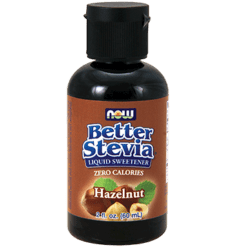 NOW Better Stevia Hazelnut 2 oz N69818