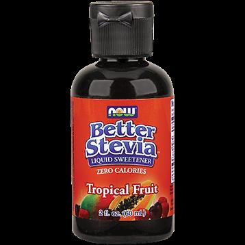 NOW Better Stevia Tropical Fruit Liq 2 oz N69221
