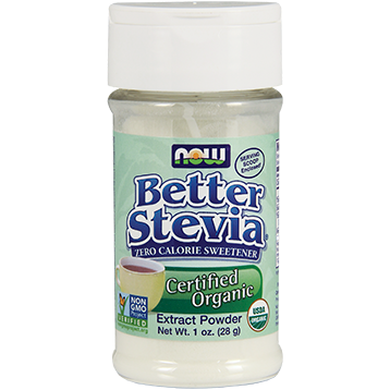 NOW Better Stevia Vanilla packets 75 packets N68637