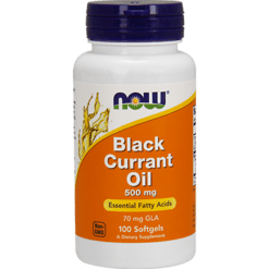 NOW Black Currant Oil 500 mg 100 softgels N1715