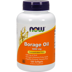 NOW Borage Oil 1000 mg 120 softgels N1722