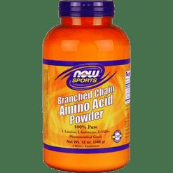 NOW Branched Chain Amino Acid Powder 12 oz N0213