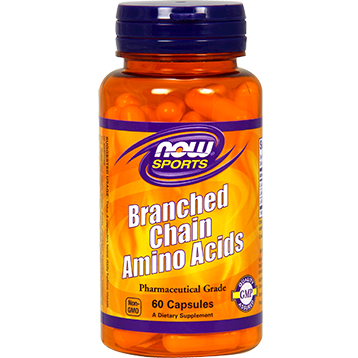 NOW Branched Chain Amino Acids 60 caps N0051