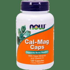 NOW Cal Mag Caps 120 caps N1265