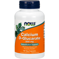 NOW Calcium D Glucarate 500 mg 90 vegcaps N30979
