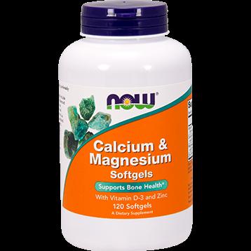 NOW Calcium amp Magnesium 120 softgels N1251
