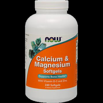 NOW Calcium amp Magnesium 240 softgels N1252
