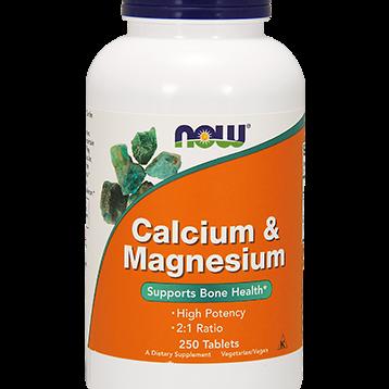 NOW Calcium amp Magnesium 250 tabs N1272
