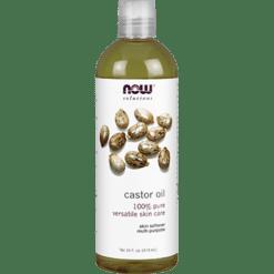 NOW Castor Oil 16 fl oz N7675