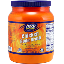NOW Chicken Bone Broth Powder 17 servings N19622