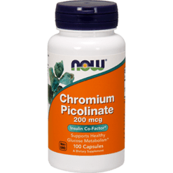 NOW Chromium Picolinate 200 mcg 100 caps N1420