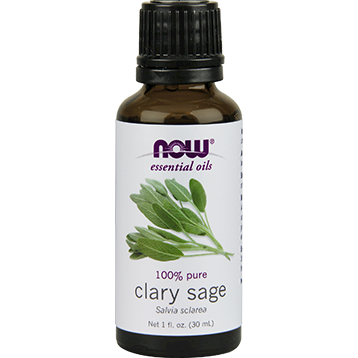 NOW Clary Sage Oil 1 oz N75383