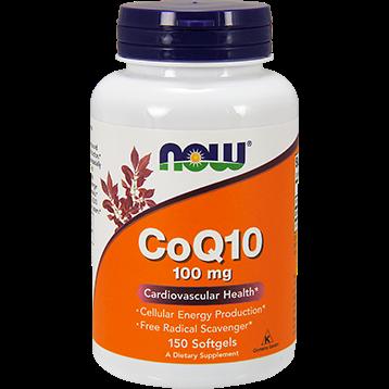 NOW CoQ10 100 mg 150 softgels N3209