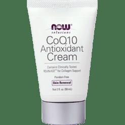 NOW CoQ10 Antioxidant Cream 2 fl oz N8112