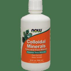 NOW Colloidal Minerals 32 fl oz N1405