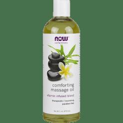 NOW Comforting Massage Oil 16 fl oz N7664