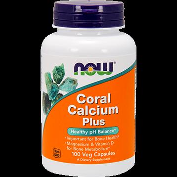 NOW Coral Calcium Plus 100 vcaps N1276