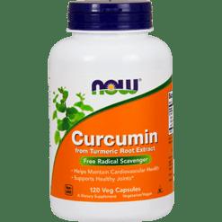 NOW Curcumin 120 vegcaps N4639