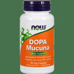 NOW Dopa Macuna 90 vcaps N3092