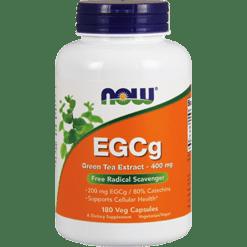 NOW EGCg 400 mg 180 vegcaps N4757