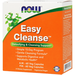 NOW Easy Cleanse 120 vcaps N2454