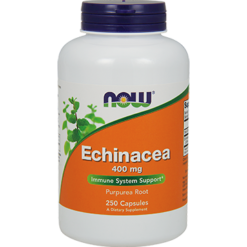 NOW Echinacea Root 400 mg 250 caps N4662