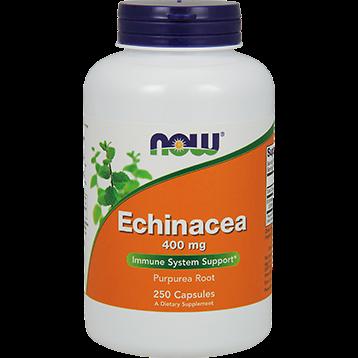 NOW Echinacea Root 400 mg 250 caps N4662
