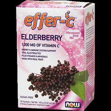 NOW Effer C Elderberry 30pkt N0598