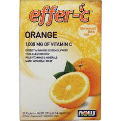 NOW Effer C Orange 30 packets N0613