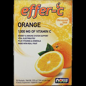 NOW Effer C Orange 30 packets N0613
