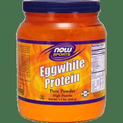 NOW Eggwhite Protein 1.2 lbs N2040