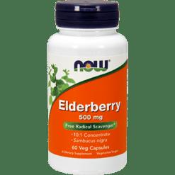 NOW Elderberry Extract 500 mg 60 vegcaps N4667