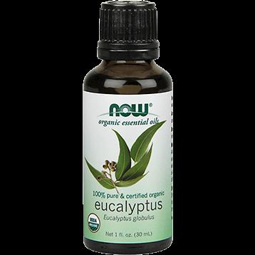 NOW Eucalayptus Oil Organic 1 fl oz N74102