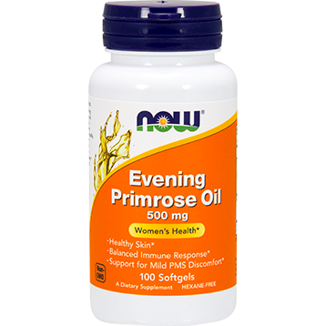 NOW Evening Primrose Oil 500 mg 100 softgels N1750