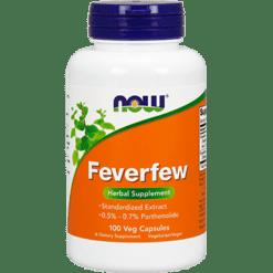 NOW Feverfew 400 mg 100 caps N4670
